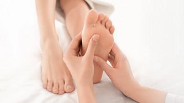 Zabieg Foot Peeling